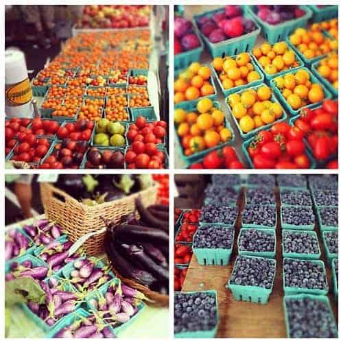 Fresh Produce courtesy of Savory Simple