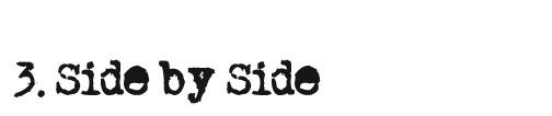 Food Blogging Trend #3 Side by Side
