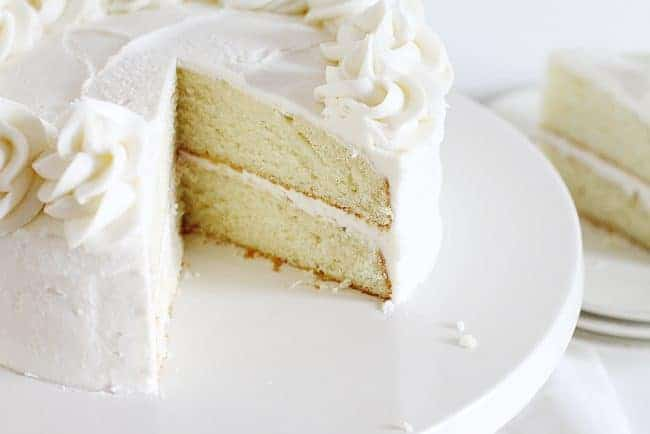 Perfect White Cake Baker