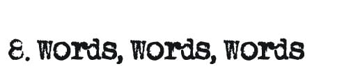 Food Blogging Trends #8 Words