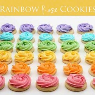 Rainbow Delight {Ten Rainbow Inspired Desserts}