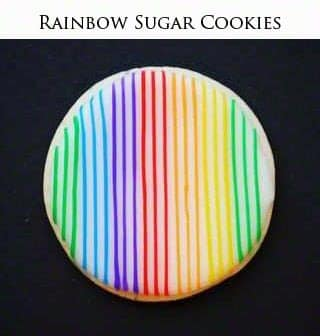 Rainbow Sugar Cookies
