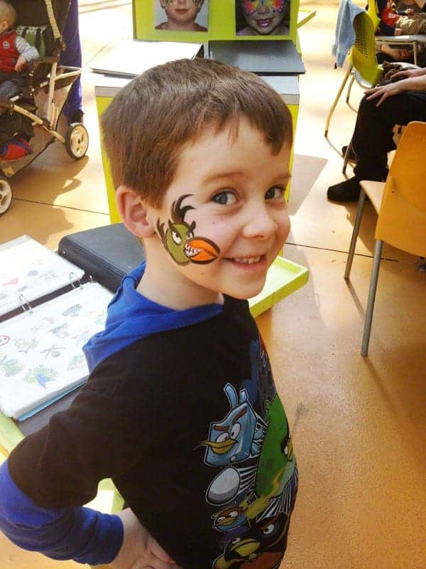 Face Painting at Mall of America