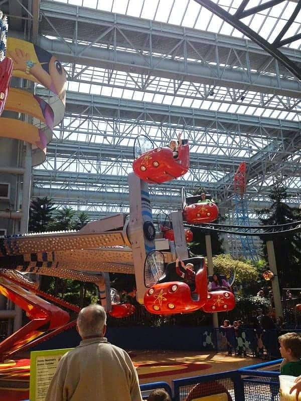 Fun Rides at the Mall of America
