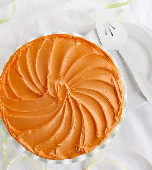 0rangesicle Springtime Cake