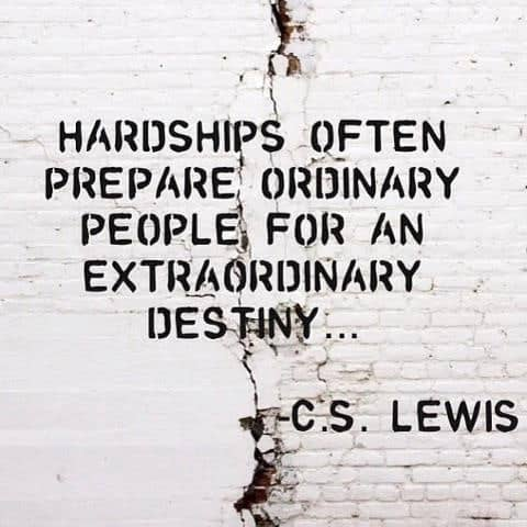 Hardships and Destiny