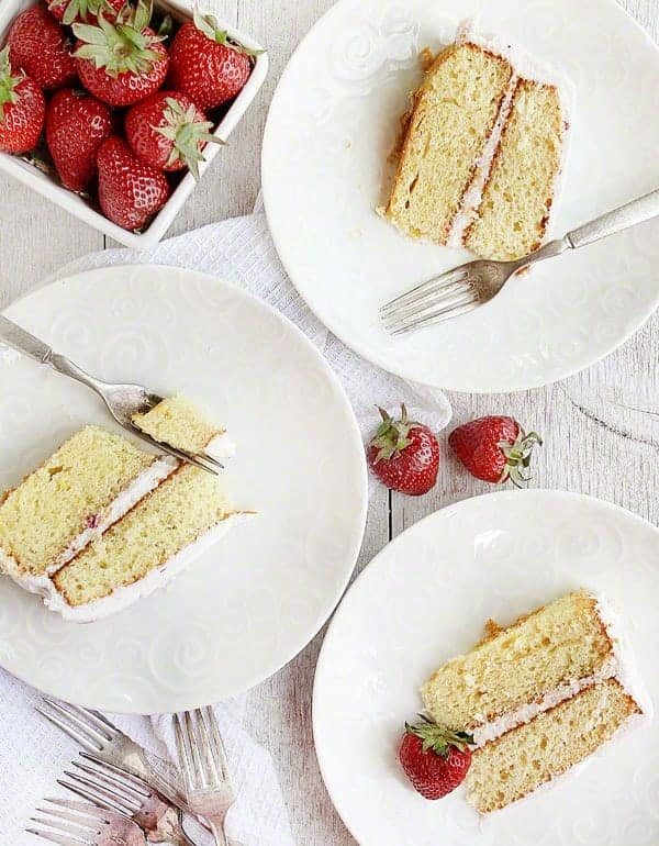 Strawberry Lemonade Cake from Generous Table by Heather Cristo