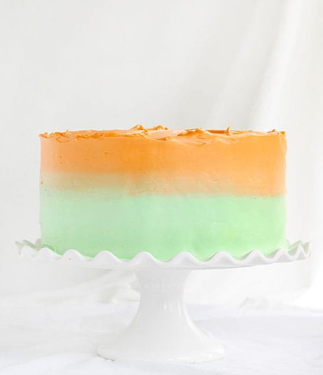 Lime and Orangesicle Springtime Cake!