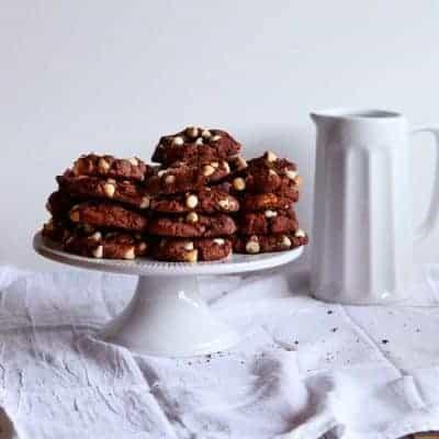 Triple Chocolate Devils Food Cake Mix Cookies!