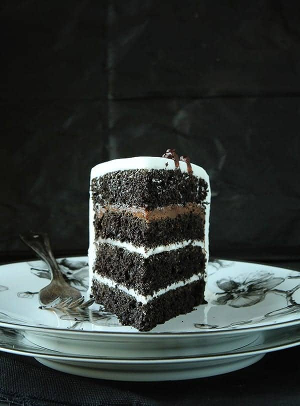 Black Velvet Cake inspired by Michael Aram