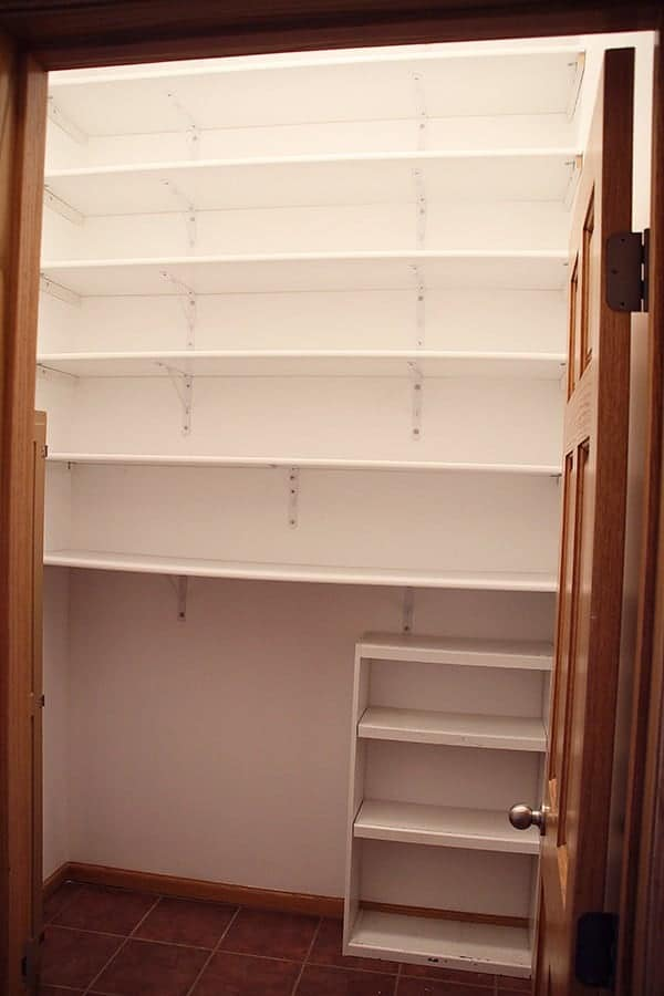 (Before) Empty Prop Closet