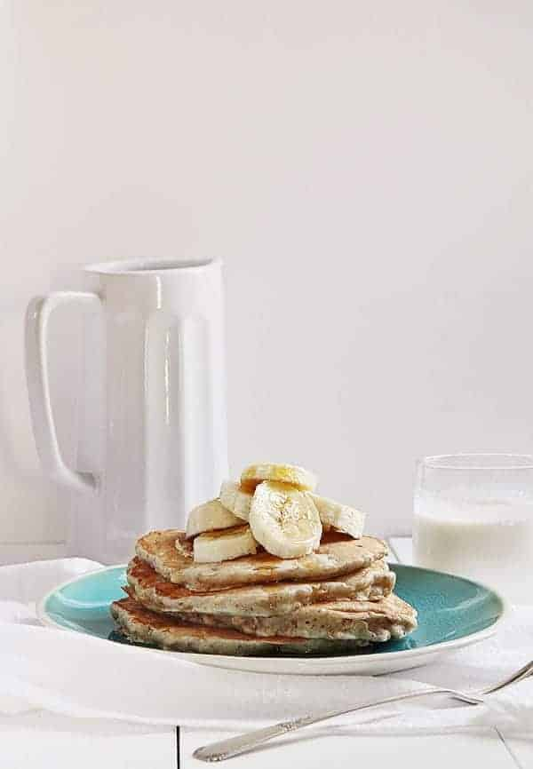 Banana Oat #pancakes #breakfast #healthy