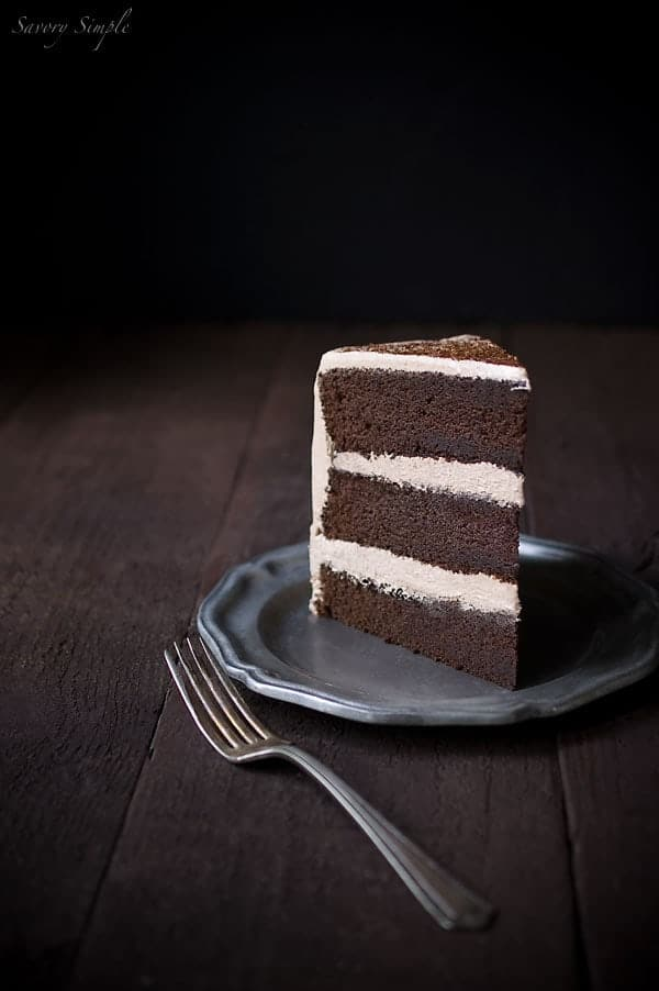 Chocolate Espresso Cake from Savory Simple