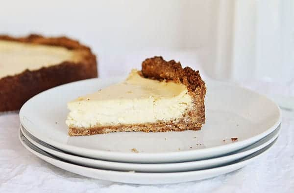 Double the Crust Cheesecake