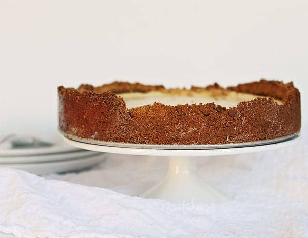 This Cheesecake is ALL about the crust!