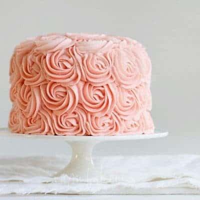 Original Rose Cake by iambaker.net