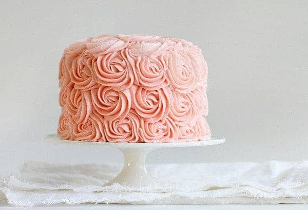 Rose Cake Tutorial I Am Baker