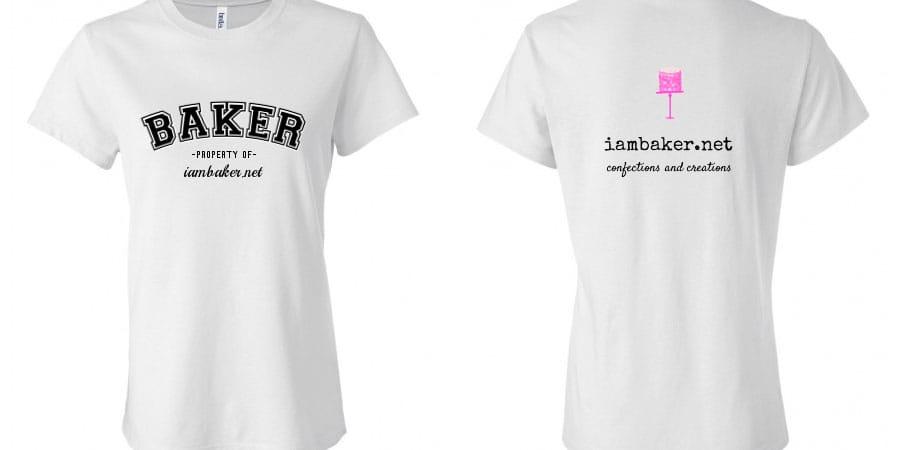 Custom iambaker.net T-shirt
