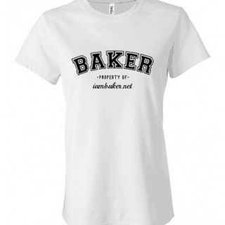 property of iambaker {custom t shirt giveaway}