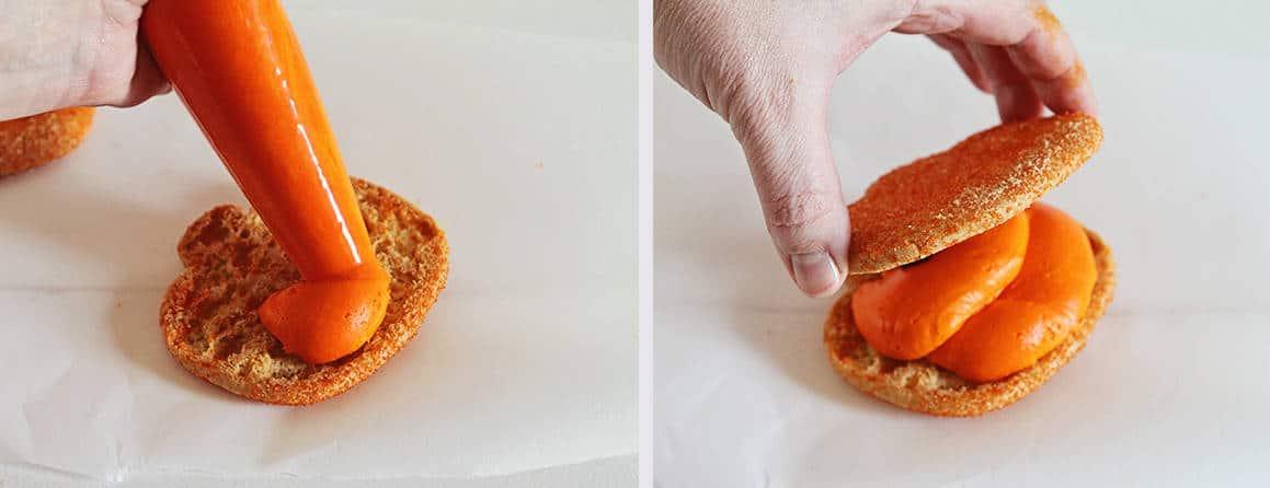 How to Make Halloween Inspired Monster Cookies #cookies #iambaker