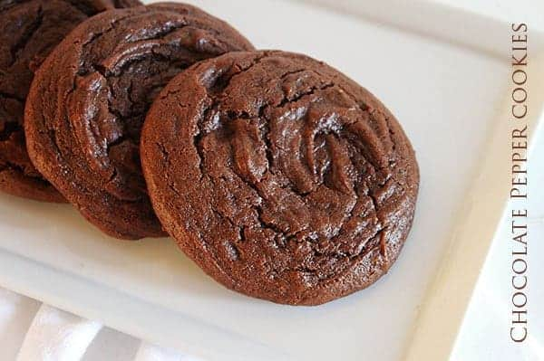 Chocolate Cookie with Pepper