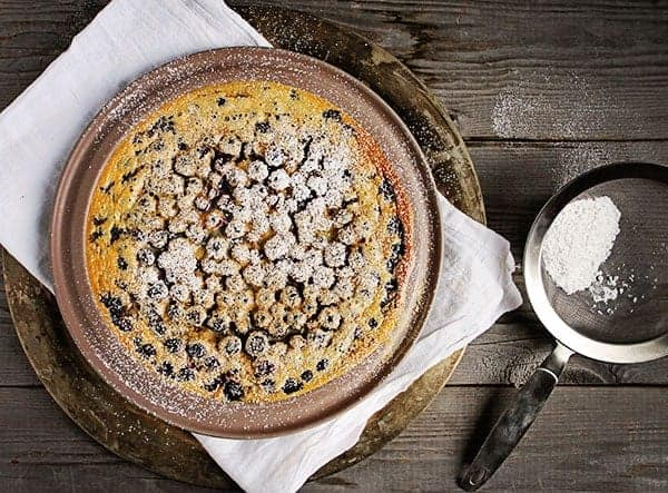 Classic Blueberry Clafouti