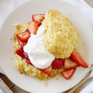 This is not your grandma's shortcake recipe!