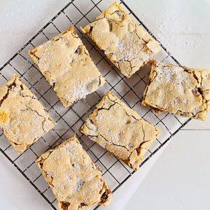 Roasted Cinnamon Date Bars