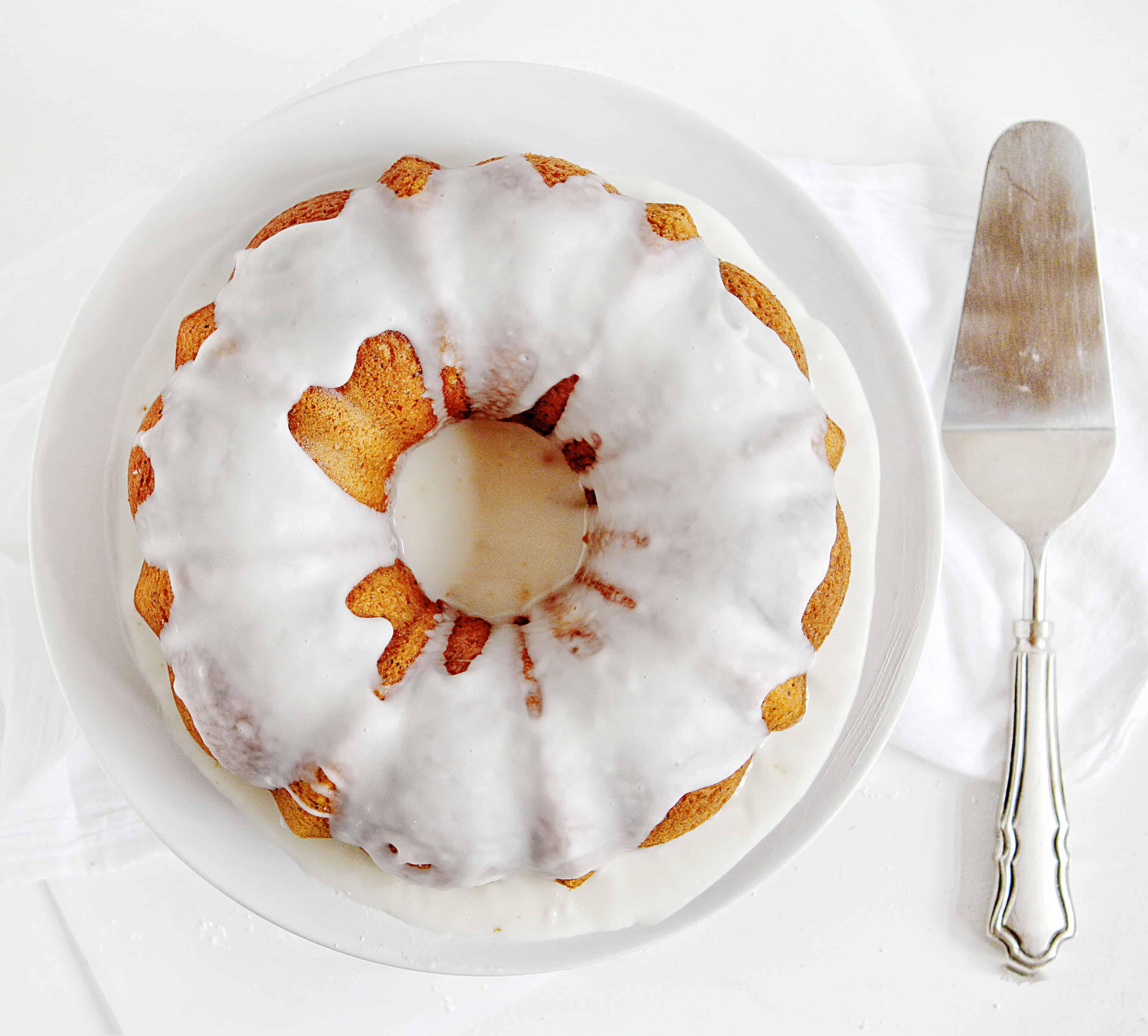 Vanilla Poppyseed Bundt Cake