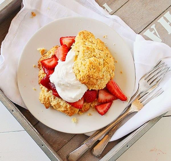 Cornmeal Shortcake