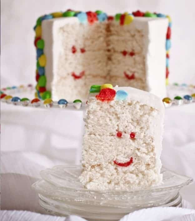 SMILE Cake! (surprise inside cake)