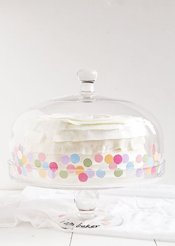 iambaker custom cake stand