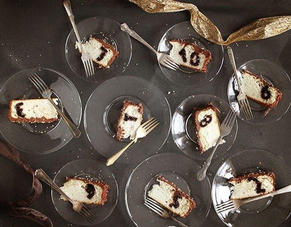 New Years Eve Countdown Cake #surpriseinsidecake