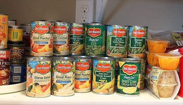 Garden in my Pantry with DelMonte