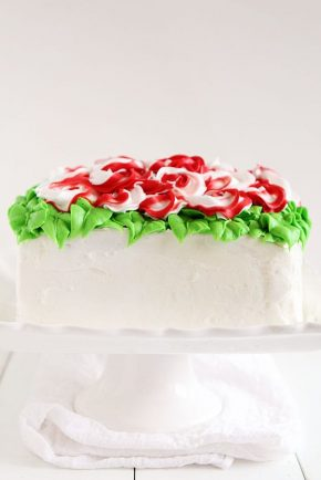 Christmas Surprise Inside Cake #surpriseinside