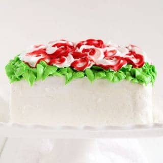 Christmas Surprise Inside Cake