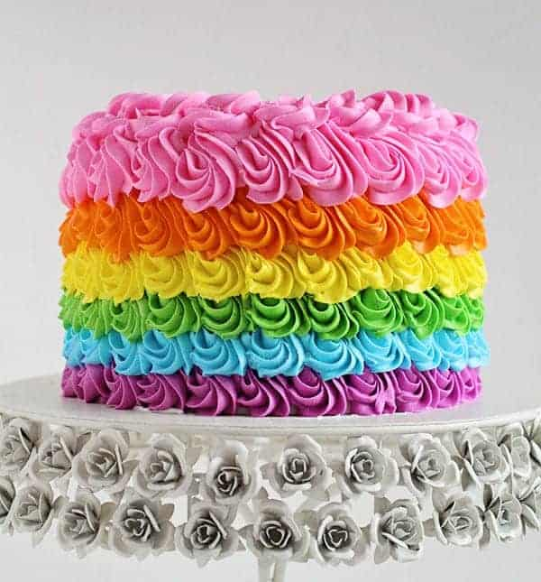 Rainbow Birthday Cake I Am Baker