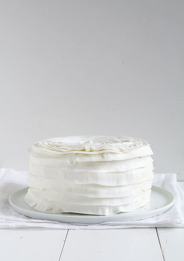 Quickest and Easiest Ruffle Cake Ever!!
