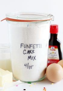 Homemade Funfetti Cake Mix!