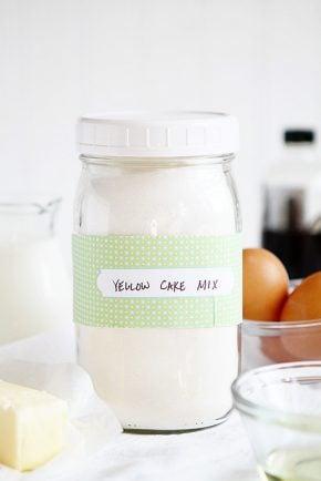 Homemade Yellow Cake Mix