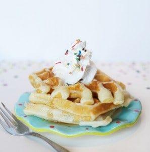 Sprinkle Waffles
