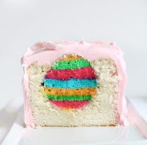 easter egg surprise-inside cake