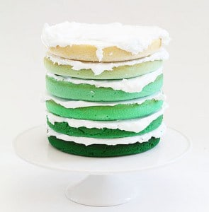 how to make a 2 layer cake