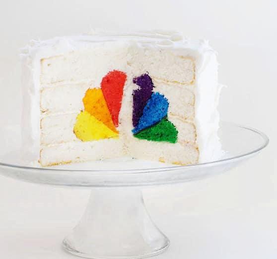 NBC Surprise Inside Cake