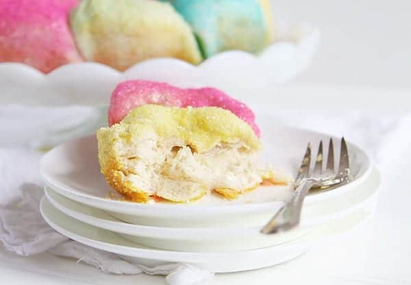Pastel Sugared Biscuits