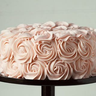 coming up roses (frosting roses of course!)
