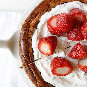Strawberry Strawberry Cheesecake! #cheesecake