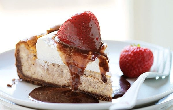 Strawberry Strawberry Cheesecake! #cheesecake
