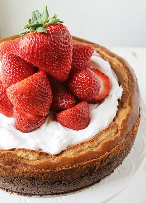 Strawberry-Strawberry Cheesecake!  #cheesecake