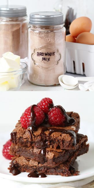 Skip the Box! These Homemade Brownies are fudgey, rich, and taste better than any brownie I have ever had!